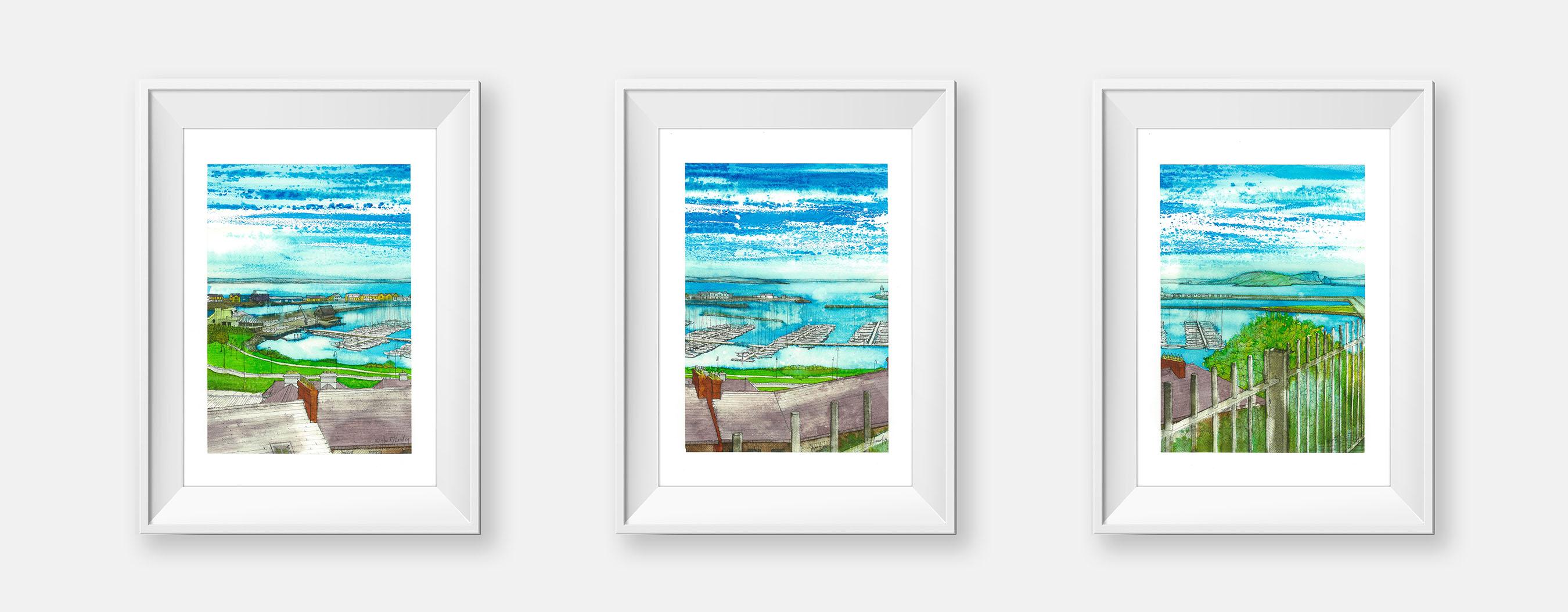 West Pier Art Studio,Alan McLeod,Art,Paintings,Prints,Hand made sea ...
